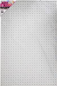 光 パンチングボード 白 約600×900mm PGBD609-2