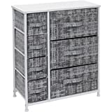 Sorbus Dresser with 7 Drawers - Furniture Storage Tower Unit for Bedroom, Hallway, Closet, Office Organization - Steel Frame,