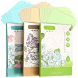 300 Sheets Oil Absorbing Tissues, HNYYZL 3 Pack Premium Oil Blotting Paper Sheets, Translucent, Soft Face Blotting Paper Stay