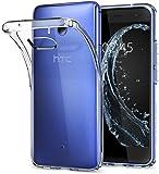 【Spigen】 HTC U11 ケース TPU 全面クリア 超薄型 超軽量 リキッド・クリスタル H11CS21939 (クリスタル・クリア)