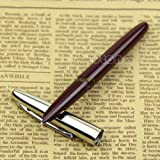 Wine Red Vintage Hero 366 Hooded Nib Fine Fountain Pen Drop Shipping Support