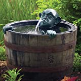 Aquascape 78315 Face and Hands Pond and Garden Water Fountain, Patina