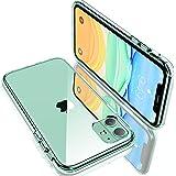 【2021最新型耐衝撃】Humixx iPhone 11 ケース 超クリア 薄型 日本旭硝子製 耐衝撃 黄変防止 滑り止め 滲み防止 ワイヤレス充電対応 レンズ保護 軽い フィット感 アイフォン11 ケース スマホケース