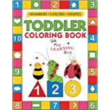 My Numbers, Colors and Shapes Toddler Coloring Book with The Learning Bugs: Fun Children's Activity Coloring Books for Toddle