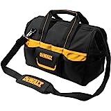 Custom LeatherCraft DEWALT DG5543 16-Inch Tradesman's Tool Bag, Black