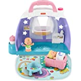 Fisher-Price GKP70 Little People Cuddle and Play Nursery, Portable Nursery Play Set