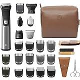 Philips Norelco MG7791/40 Multi Groomer, 29 Piece Men's Grooming Kit - No Blade Oil Needed