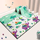 Baby Play mat, playmat,Baby mat Folding Extra Large Thick Foam Crawling playmats Reversible Waterproof Portable playmat for B