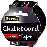 Scotch Chalkboard Removable Tape 48mm x 4.57m 1905R-CB-BLK