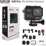SJCAMスポーツカメラ SJ 8 Pro 4K 60fps WIFI 2.3インチタッチスクリーン170度 広角EIS 8倍のデジタルズーム30 M防水カメラ(黒)