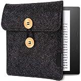 Emoly Kindle Sleeve for Kindle Oasis 7'' E-Reader - Protective Insert Felt Hybrid Laptop Sleeve Case Cover Bag Fits Kindle Oa