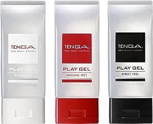TENGA テンガ PLAY GEL SET プレイジェルセット【3本セット/ふき取り簡単! プレイに最適新感覚ローション】