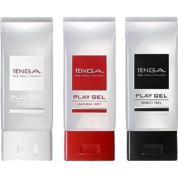 TENGA PLAY GEL SET 【3本セット/ふき取り簡単! プレイに最適新感覚ローション】