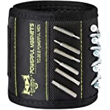 Magnetic Wristband with 20 Strong Magnets for Holding Screws Nails Drill Bits Gifts Gadgets Tools, Best Men, Father/Dad, Husb