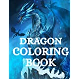 Dragon Coloring Book: For Adults with Mythical Fantasy Creatures Stress Relieving Relaxation with Beautiful Mandalas over +40