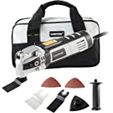 WISETOOL 400W 3.5 Amp Oscillating Multi Tool Kit with 4.5° Oscillation Angle,6 Variable Speed Oscillating Saw with Quick Blad