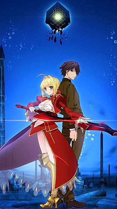Fate  iPhone/Androidスマホ壁紙(540×960)-1 - セイバー,岸浪ハクノ 『Fate/EXTRA Last Encore』