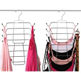Aptech Tank Tops Camisole Clothes Hanger Closet Organizer for Metal Folding Space Saving Tank Tops, Cami, Bras, Bathing Suits