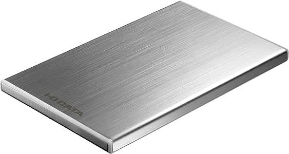 I-O DATA HDD 外付ポータブルハードディスク「カクうす7」 500GB USB 3.0接続 薄さ7mm シルバー HDPU-UT500S
