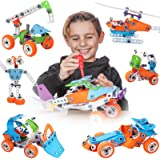 STEM Learning Toys   Fun Educational Engineering Toys for 7 8 9 10+ Year Old Boys and Girls   Creative Construction Building