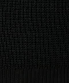 Wool Tuck Turtleneck Sweater 1283-105-0113: Black