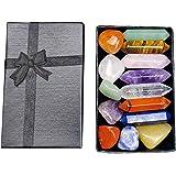 7 Chakra Stone Set Meditation Stone Yoga Amulet with Gift Box