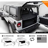 GPCA Wrangler 2018-2019 JL Unlimited Cargo Cover PRO - Reversible TOP ON/Topless 4DR JL Sports/Sahara/Freedom/Rubicon - Hardt