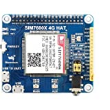 Waveshare4G/3G/GNSSHATforRaspberryPiZero/ZeroW/ZeroWH/2B/3B/3B+BasedonSIM7600A-HLTECAT4upto150MbpsSupportPh