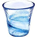 月夜野工房 我が家の一杯 焼酎グラス S 青 T1-0240-B