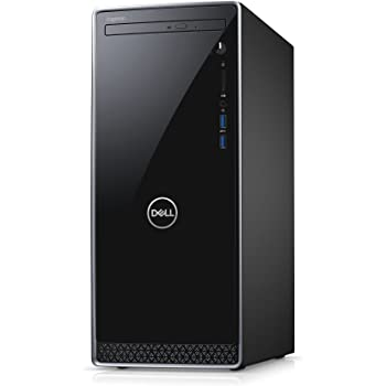 Dell ゲーミングデスクトップパソコン Inspiron 3670 Core i7 19Q12/Windows10/8GB/128GB SSD+1TB HDD/GTX1060