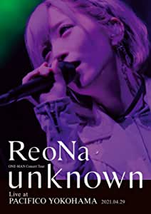 """【Amazon.co.jp限定】ReoNa ONE-MAN Concert Tour """"unknown"""" Live at PACIFICO YOKOHAMA (初回生産限定盤) (BD) (""""unknown""""ツアーロゴトートバッグ(A4サイズ)付) [Blu-ray]"""