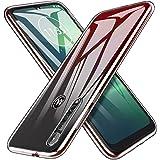 Moto G8 Plus ケース [Gos Elec] Moto G8 Plus カバー TPU クリア シリコンカバー 全面保護 耐衝撃 高透明度 保護カバー