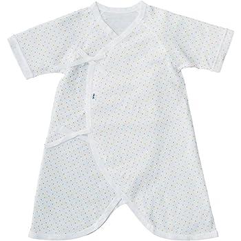 3d3aa4ae9e478 CELEC(セレク) 新生児 肌着 日本製 ベビー コンビ肌着 60cm フライス ドットプリント 出産