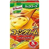 味の素 クノール カップスープ コーンクリーム 17.6g×8袋×6箱
