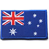 World Flag Patch Embroidered Military Tactical Morale Patches (Australia)