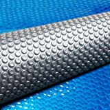 Aquabuddy 7M X 4M Solar Swimming Pool Cover – Blue