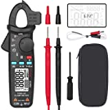 BSIDE Digital Clamp Meter AC Current True RMS 6000 Counts Multimeter Temperature Capacitance AC/DC Voltage Live Wire Check V-