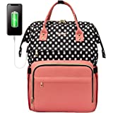 Laptop Backpack for Women Work Laptop Bag Stylish Teacher Backpack Business Computer Bags College Laptop Bookbag