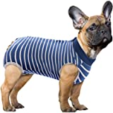 SAWMONG Recovery Suit for Dog, Dog Recovery Shirt for Abdominal Wounds or Skin Diseases, Pet Surgery Recovery Snugly Suit, An