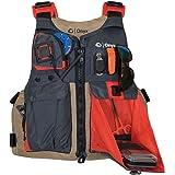 Onyx Kayak Fishing Life Jacket, Tan