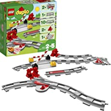 レゴ(LEGO)デュプロ あそびが広がる! 踏切レールセット 10882
