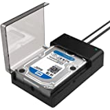 Sabrent USB 3.0 to SATA External Hard Drive Lay-Flat Docking Station for 2.5 or 3.5in HDD, SSD (Original)