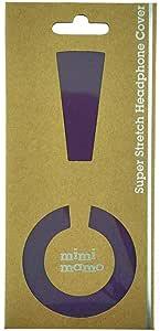 ボロボロのイヤーパッドが復活|修理・保護・汗ムレの解消に|mimimamo スーパーストレッチヘッドホンカバー M (パープル) ※各機種への対応はメーカーHPのヘッドホン対応表をご確認ください