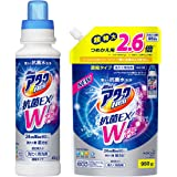 【Amazon.co.jp 限定】【まとめ買い】アタックNeo 抗菌EX Wパワー 洗濯洗剤 濃縮液体 本体+詰め替え9…