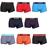 EXIO(エクシオ) ボクサーパンツ メンズ 4枚セット ブランド 下着 ローライズ ボクサー パンツ ボクサーブリーフ ブリーフ