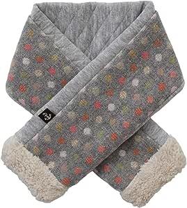 DORACO マフラー ベビー キッズ 日本製 防寒 冬 ネックウォーマー 子供 おしゃれ 出産祝い ギフトに 人気 (キャンディドット)