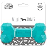 Willie Bones | Modern Dog Chew Toy | Almost Indestructible Dog Toys for Aggressive Chewers | Tough + Durable + Strong Natural