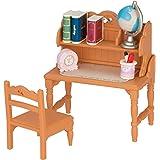 シルバニアファミリー 家具 勉強机セット 7x4x8cm カ-318