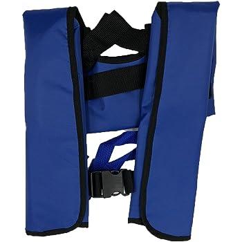 Quoll CE認証済 ライフジャケット 救命胴衣 ベストタイプ 瞬時に膨らむ 手動膨張 ボンベ 釣り 4色から選択