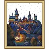 Full Range of Embroidery Starter Kits Stamped Cross Stitch Kits Beginners for DIY Embroidery kit 11CT 17×21(inch) - Magic Cas